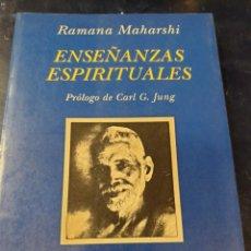 Libros antiguos: ENSEÑANZAS ESPIRITUALES RAMANA MAHARSHI. Lote 262942330