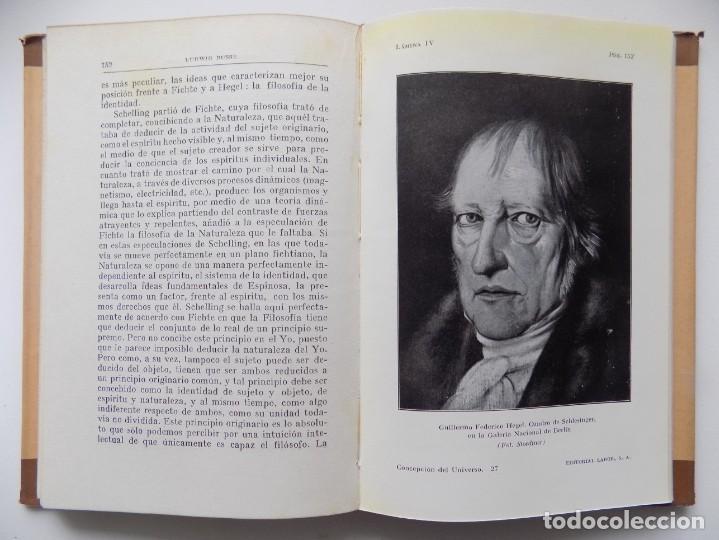 Libros antiguos: LIBRERIA GHOTICA. LUDWIG BUSSE. CONCEPCIÓN DEL UNIVERSO. EDITORIAL LABOR 1933. MUY ILUSTRADO. - Foto 2 - 263033465