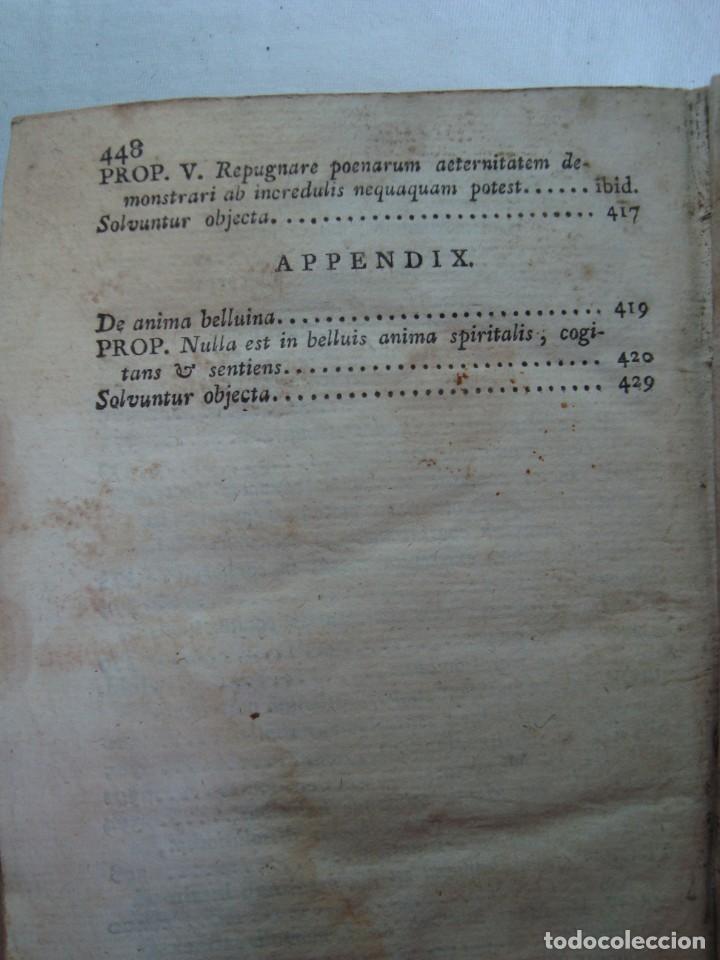 Libros antiguos: 1820 - INSTITUTIONES PHILOSOPHICAE - METAPHYSICA - LIBRO ANTIGUO - Foto 14 - 263126625