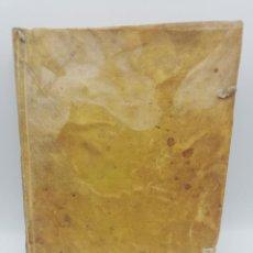 Libros antiguos: LIBRO DE FILOSOFIA MANUSCRITO. ELEMENTA PHILOSOPHIA. VER FOTOS. ENCUADERNACION EN PERGAMINO.. Lote 265441884