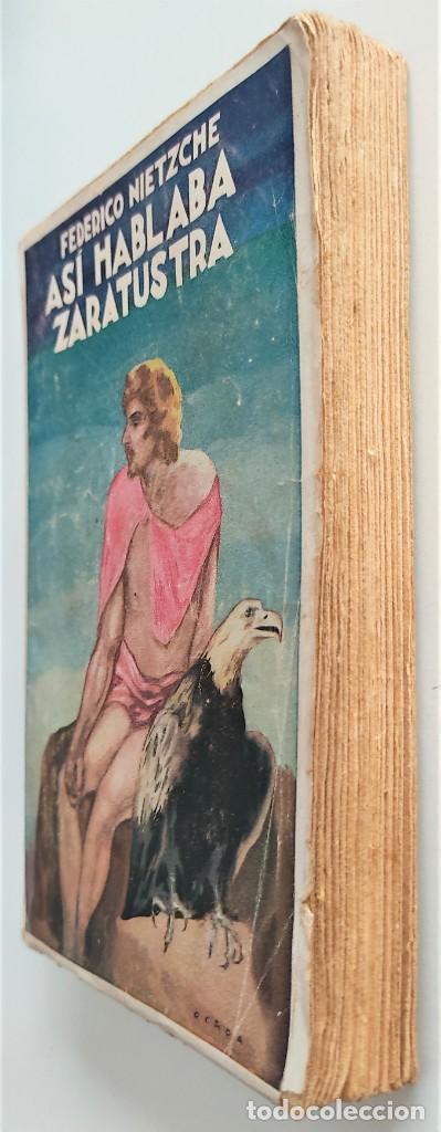 Libros antiguos: ASÍ HABLABA ZARATUSTRA - FEDERICO NIETZCHE - CASA EDITORIAL MAUCCI - Foto 3 - 265946243