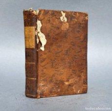 Libri antichi: 1793 - CONFESIONES DE ROUSSEAU - REVOLUCIÓN FRANCESA - ILUSTRACIÓN. Lote 267080859