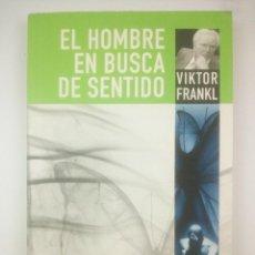 Livres anciens: EL HOMBRE EN BUSCA DE SENTIDO VIKTOR FRANKL. Lote 269717723