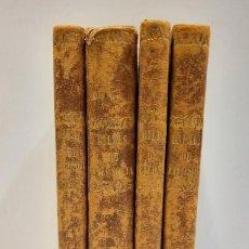 Libros antiguos: CURSO DE FILOSOFIA ELEMENTAL - D. JAIME BALMES. MADRID 1847 (4 TOMOS). LÓGICA.METAFISICA. ETICA. Hº. Lote 270914553