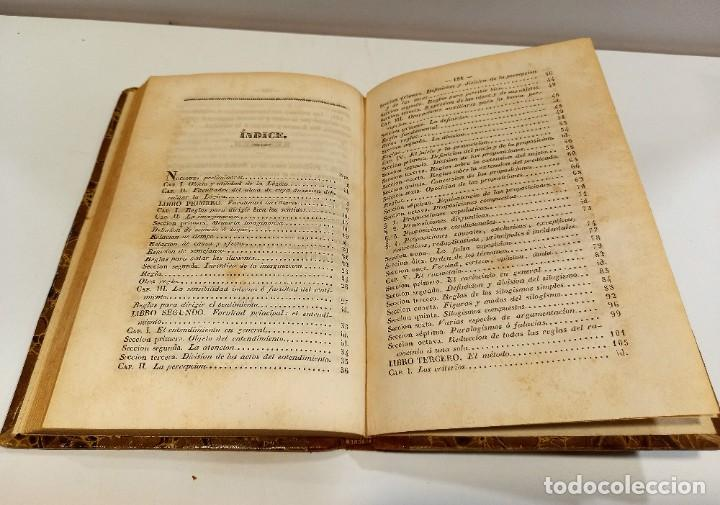 Libros antiguos: CURSO DE FILOSOFIA ELEMENTAL - D. JAIME BALMES. Madrid 1847 (4 tomos). LÓGICA.METAFISICA. ETICA. Hº - Foto 10 - 270914553