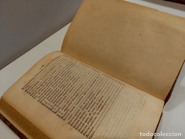 Libros antiguos: CURSO DE FILOSOFIA ELEMENTAL - D. JAIME BALMES. Madrid 1847 (4 tomos). LÓGICA.METAFISICA. ETICA. Hº - Foto 11 - 270914553