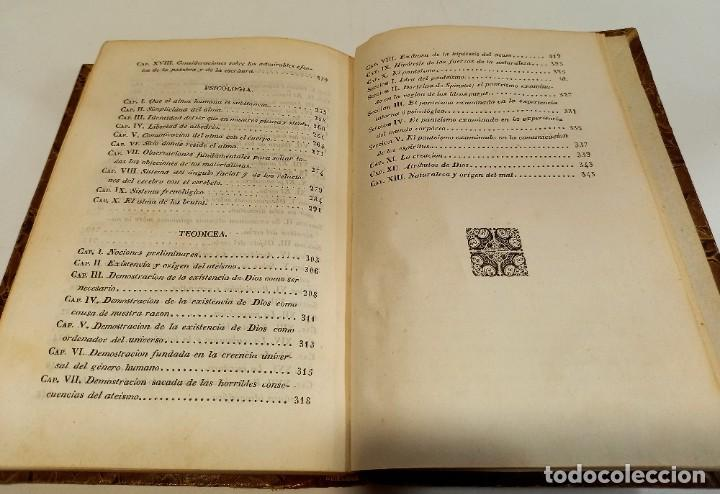 Libros antiguos: CURSO DE FILOSOFIA ELEMENTAL - D. JAIME BALMES. Madrid 1847 (4 tomos). LÓGICA.METAFISICA. ETICA. Hº - Foto 16 - 270914553
