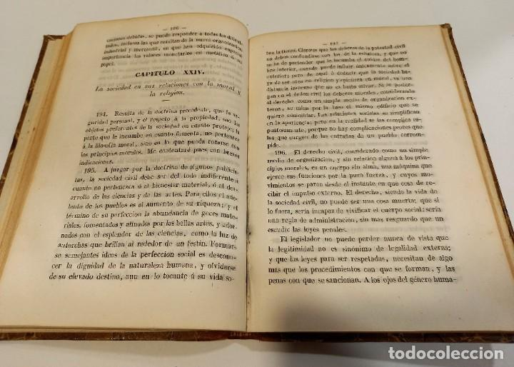 Libros antiguos: CURSO DE FILOSOFIA ELEMENTAL - D. JAIME BALMES. Madrid 1847 (4 tomos). LÓGICA.METAFISICA. ETICA. Hº - Foto 21 - 270914553