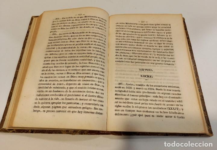 Libros antiguos: CURSO DE FILOSOFIA ELEMENTAL - D. JAIME BALMES. Madrid 1847 (4 tomos). LÓGICA.METAFISICA. ETICA. Hº - Foto 23 - 270914553