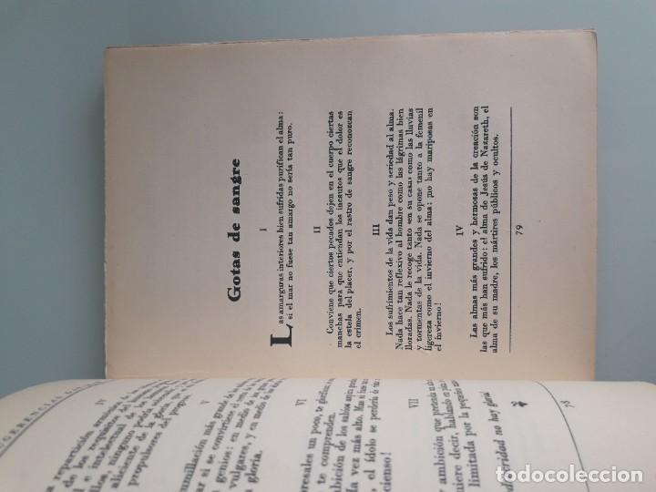 Libros antiguos: SUGERENCIAS FILOSÓFICO-LITERARIAS - VICENTE GAR-MAR - PRIMERA EDICIÓN 1932 - 2 TOMOS - Foto 6 - 270934298