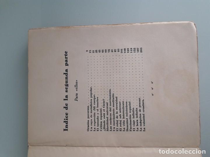 Libros antiguos: SUGERENCIAS FILOSÓFICO-LITERARIAS - VICENTE GAR-MAR - PRIMERA EDICIÓN 1932 - 2 TOMOS - Foto 10 - 270934298