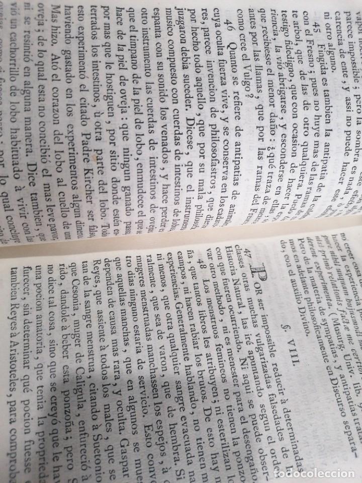 Libros antiguos: Teatro crítico universal. Feijoo. Tomo segundo. 1781 - Foto 2 - 275588218