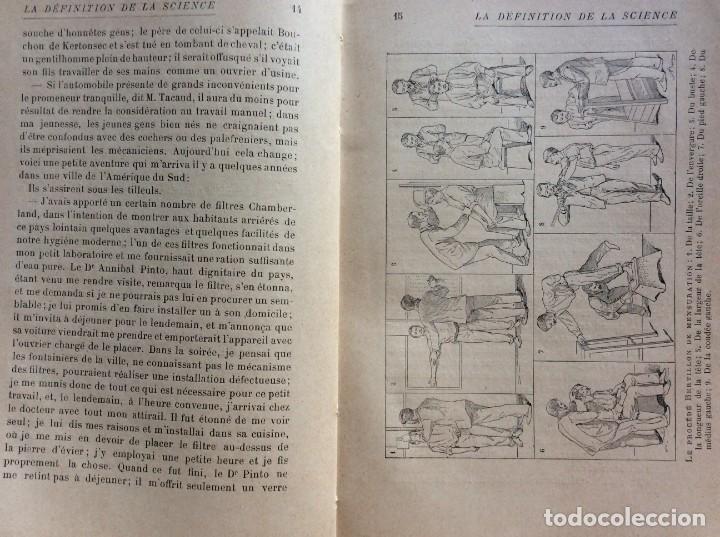 Libros antiguos: La definition de la science : entretiens philosophiques. Félix Le Dantec, 1908. 1.ª edición. - Foto 5 - 276435773