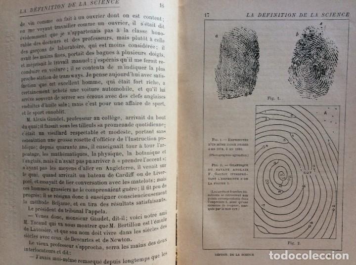 Libros antiguos: La definition de la science : entretiens philosophiques. Félix Le Dantec, 1908. 1.ª edición. - Foto 6 - 276435773