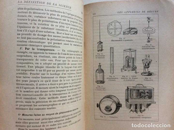 Libros antiguos: La definition de la science : entretiens philosophiques. Félix Le Dantec, 1908. 1.ª edición. - Foto 11 - 276435773