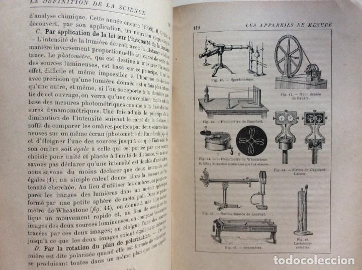 Libros antiguos: La definition de la science : entretiens philosophiques. Félix Le Dantec, 1908. 1.ª edición. - Foto 12 - 276435773