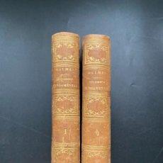 Libros antiguos: FILOSOFIA FUNDAMENTAL. JAIME BALMES. ED. LIBRERIA DE ROSA. 2 TOMOS. PARIS, 1851. Lote 278462968
