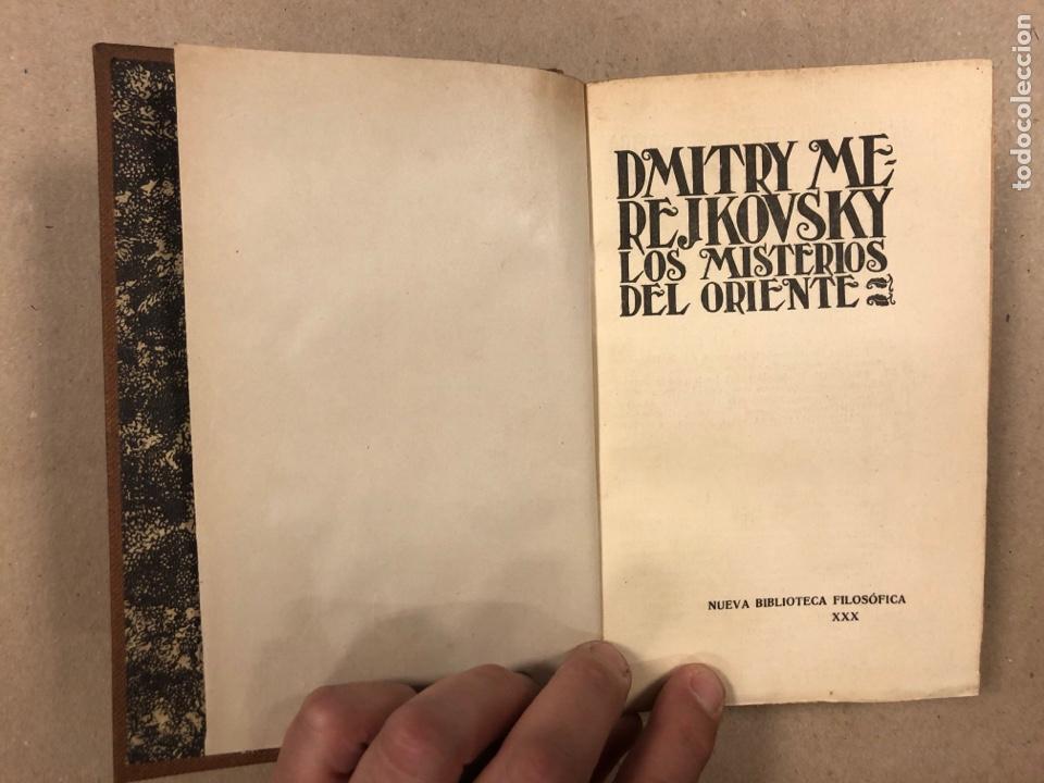 Libros antiguos: LOS MISTERIOS DEL ORIENTE (EGIPTO - BABILONIA). DMITRY METEJKOVSKY. ESPASA CALPE 1929. - Foto 3 - 281918508