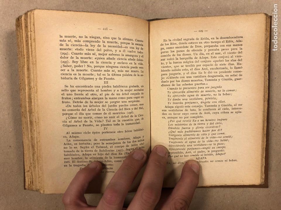 Libros antiguos: LOS MISTERIOS DEL ORIENTE (EGIPTO - BABILONIA). DMITRY METEJKOVSKY. ESPASA CALPE 1929. - Foto 8 - 281918508