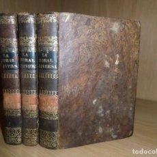 Libros antiguos: LA MORAL UNIVERSAL O LOS DEBERES DEL HOMBRE - BARON HOLBACH - 3 TOMOS 1835 - DISPONGO DE MAS LIBROS. Lote 286870753