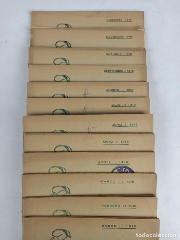 Libros antiguos: EL LOTO BLANCO - REVISTA TEOSOFICA - 1918 AÑO COMPLETO - 12 NÚMEROS - CLIMENT , Federico - TEOSOFIA - Foto 3 - 288063963