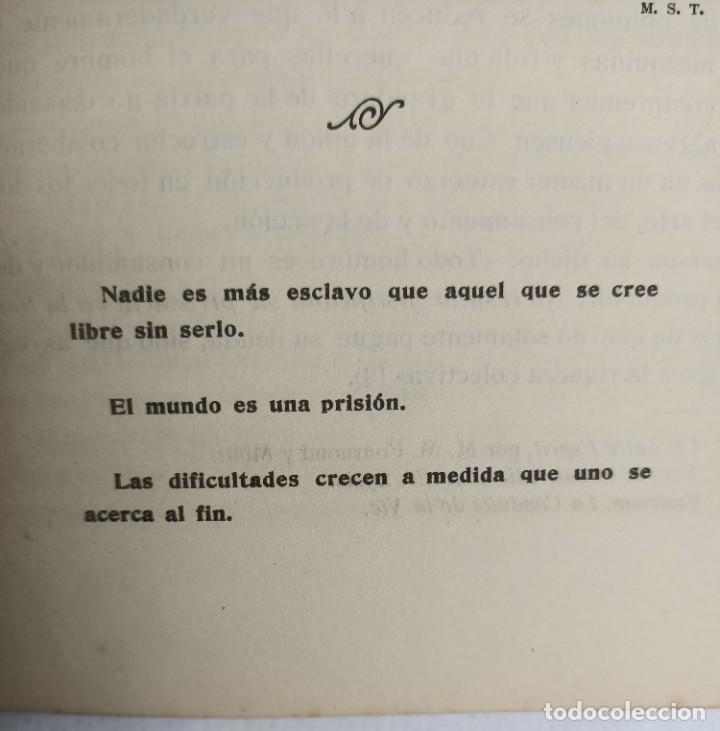 Libros antiguos: EL LOTO BLANCO - REVISTA TEOSOFICA - 1918 AÑO COMPLETO - 12 NÚMEROS - CLIMENT , Federico - TEOSOFIA - Foto 12 - 288063963