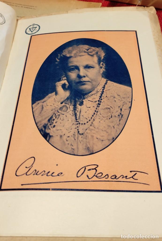 Libros antiguos: 1917 - REVISTA TEOSOFICA / ORGANO OFICIAL / DE LA SECCION CUBANA DE LA SOCIEDAD TEOSOFICA - Foto 2 - 288065503