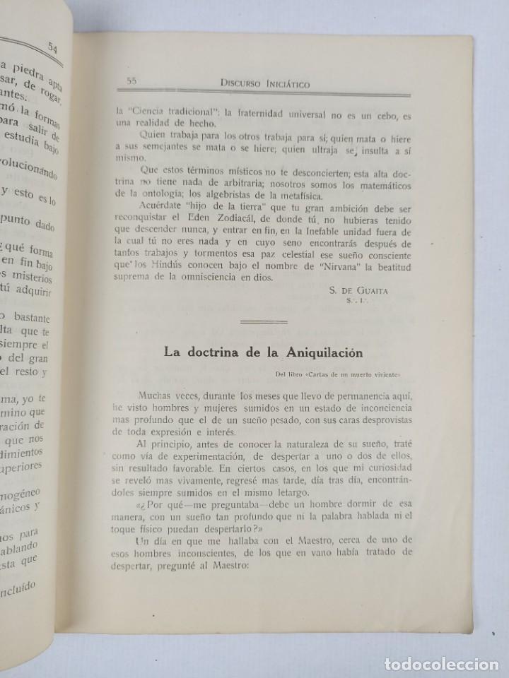 Libros antiguos: REVISTA TEOSOFICA ONDAS BUDDHICAS - 1918 - ARGENTINA - 2 NÚMEROS - TEOSOFÍA - Foto 2 - 288067838