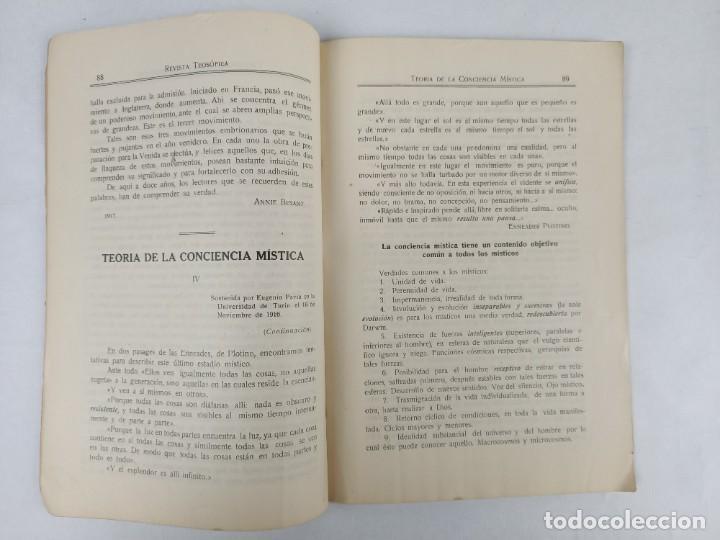Libros antiguos: REVISTA TEOSOFICA ONDAS BUDDHICAS - 1918 - ARGENTINA - 2 NÚMEROS - TEOSOFÍA - Foto 4 - 288067838