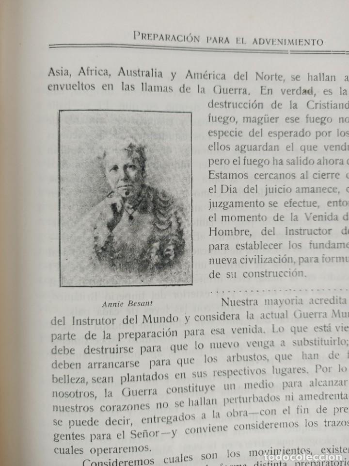 Libros antiguos: REVISTA TEOSOFICA ONDAS BUDDHICAS - 1918 - ARGENTINA - 2 NÚMEROS - TEOSOFÍA - Foto 5 - 288067838
