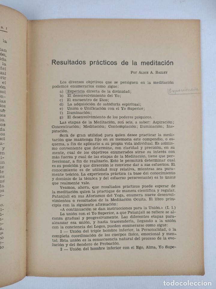Libros antiguos: THEOSOPHIA - REVISTA DE SINTESIS ESPIRITUAL / VOLUMEN V / ENERO 1936 / NÚMERO 1 - TEOSOFIA - Foto 4 - 288071648