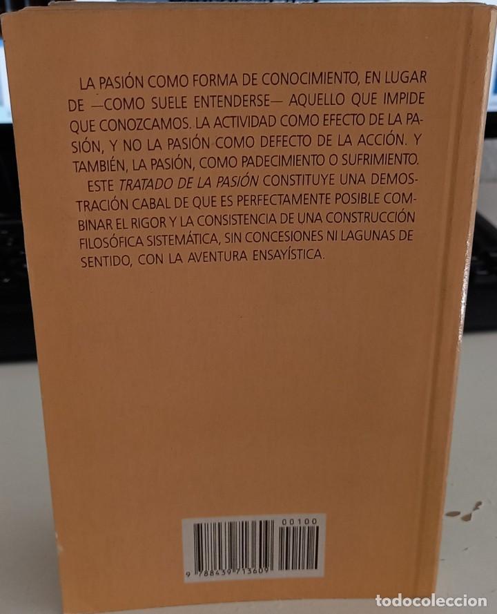 Libros antiguos: TRATADO DE LA PASIÓN - TRIAS, EUGENIO - Foto 2 - 288480963