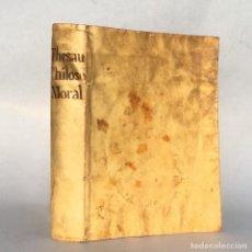 Libros antiguos: AÑO 1750 - FILOSOFIA MORAL DERIVADA DE LA ALTA FUENTE DEL GRANDE ARISTOTELES STAGIRITA - PERGAMINO. Lote 289250448