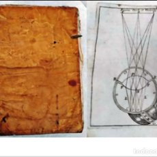 Libros antiguos: AÑO 1762: FILOSOFÍA TOMÍSTICA. MADRID. RARO LIBRO DEL SIGLO XVIII. PERGAMINO. Lote 291490763