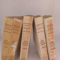 Libros antiguos: CINCO CARDENAL MERCIER NUEVA BIBLIOTECA FILOSÓFICA 1934. Lote 297243193