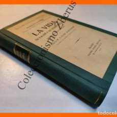 Libros antiguos: LA VIDA SU VALOR Y SU SIGNIFICACION - RODOLFO EUCKEN. Lote 297360018