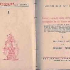 Libros antiguos: VIAJES POR AMERICA DEL SUR UN BUQUE HOLANDÉS EN AMÉRICA DEL SUR. Lote 26314874
