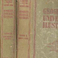 Libros antiguos: GEOGRAFIA UNIVERSAL ILUSTRADA. Lote 26630176