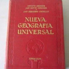 Livros antigos: (3 VOLS.) NUEVA GEOGRAFIA UNIVERSAL ASPECTOS DE LA NATURALEZA, LA VIDA DE LOS HOMBRES, RECURSOS…1928. Lote 13454048