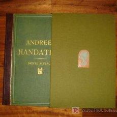 Libros antiguos: ATLAS UNIVERSAL ANDREES 1893, 91 MAPAS GRAN TAMAÑO ATLAS ANTIGUO NO VIEJO ESTA IMPECABLE CON ESTUCHE. Lote 27188120