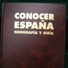 Libros antiguos: CONOCER ESPAÑA -GEOGRAFIA Y GUIA. -15 TOMOS. Lote 31070114