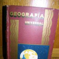 Libros antiguos: GEOGRAFIA UNIVERSAL BIBLIOTECA PERLA. Lote 26733426