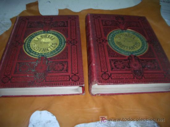 LA TIERRA Y SUS HABITANTES VIAJE PINTORESCO A LAS CINCO PARTES DEL MUNDO (Libros Antiguos, Raros y Curiosos - Geografía y Viajes)
