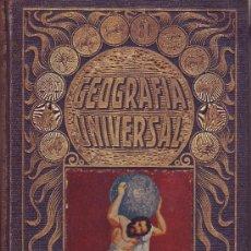 Libros antiguos: GEOGRAFÍA UNIVERSAL. AGUSTÍN BLÁNQUEZ FRAILE. REMÓN SOPENA 1931.. Lote 18224336