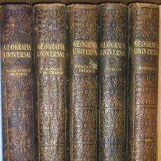 Libros antiguos: GEOGRAFÍA UNIVERSAL. INSTITUTO GALLACH 1928-1931.5 TOMOS. Lote 27446444