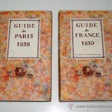 Libros antiguos: COLECCIÓN DE 7 GUÍAS EUROPEAS DE VIAJE (1793-1828). EDICIÓN FACSÍMIL. TEXTO EN FRANCÉS.. Lote 12229418