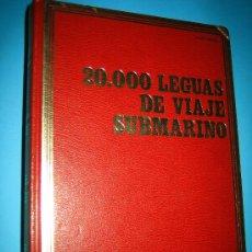 Libros antiguos: VEINTE MIL LEGUAS DE VIAJE SUBMARINO DE JULIO VERNE MADRID 1977 ILUSTRACIONES COLOR. Lote 26323870