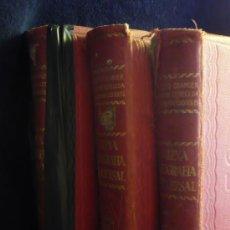Libros antiguos: NUEVA GEOGRAFIA UNIVERSAL. GRAGNER, CERECEDA. TRES TOMOS. ESPASA CALPE. 1928. Lote 26738481