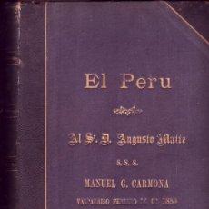 Libros antiguos: EL PERÚ. ANTONIO RAIMONDI.. Lote 21176733