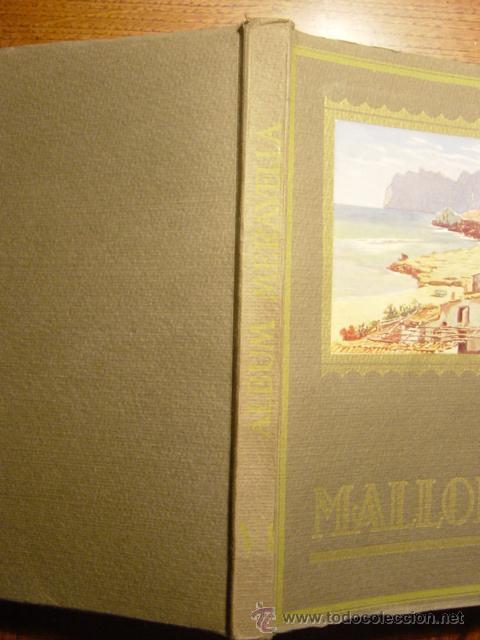 Libros antiguos: ALBUM MERAVELLA VOLUMEN VI AÑO 1936, MALLORCA (CROMOS) - Foto 3 - 26847295